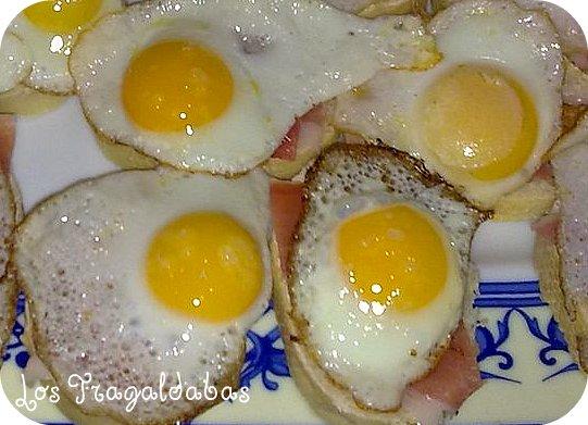 Huevos de Codorniz con Jamón