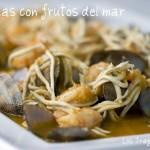 Almejas con Frutos del Mar