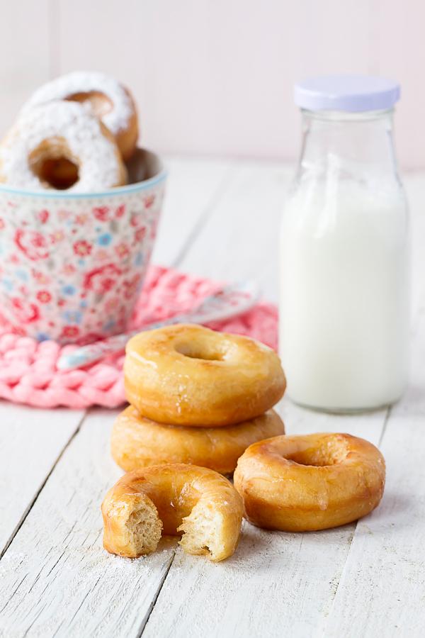 Donuts receta casera
