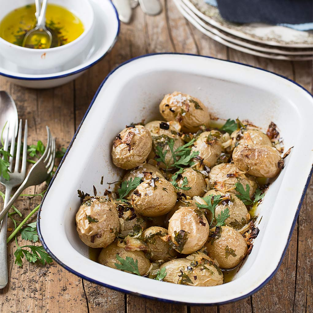 Patatas mejicanas y revistas gastronómicas