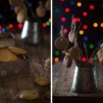 Pepparkakor Galletas de jengibre para Navidad