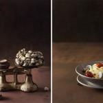 Tallarines con berberechos y lima