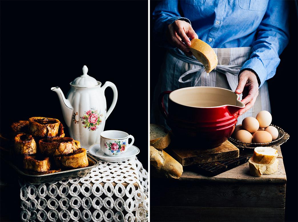 torrijas caseras con leche