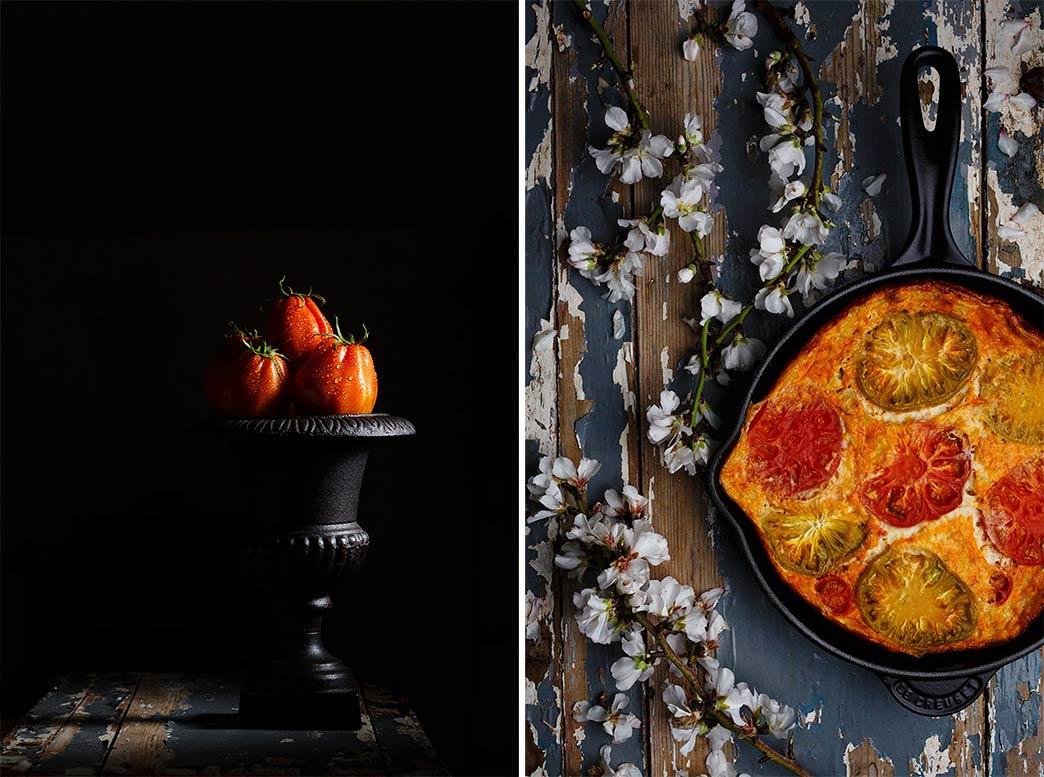 Receta de Fritata de tomate