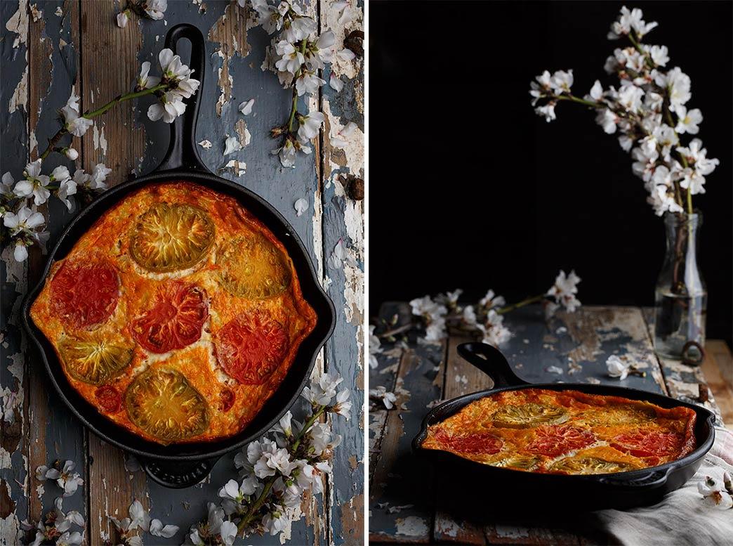 Fritata de tomate