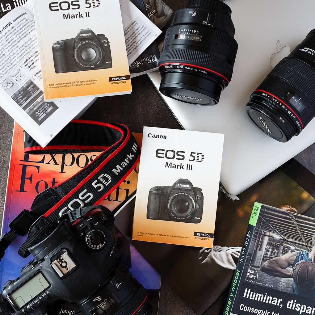 ¿Cómo configurar mi cámara reflex?