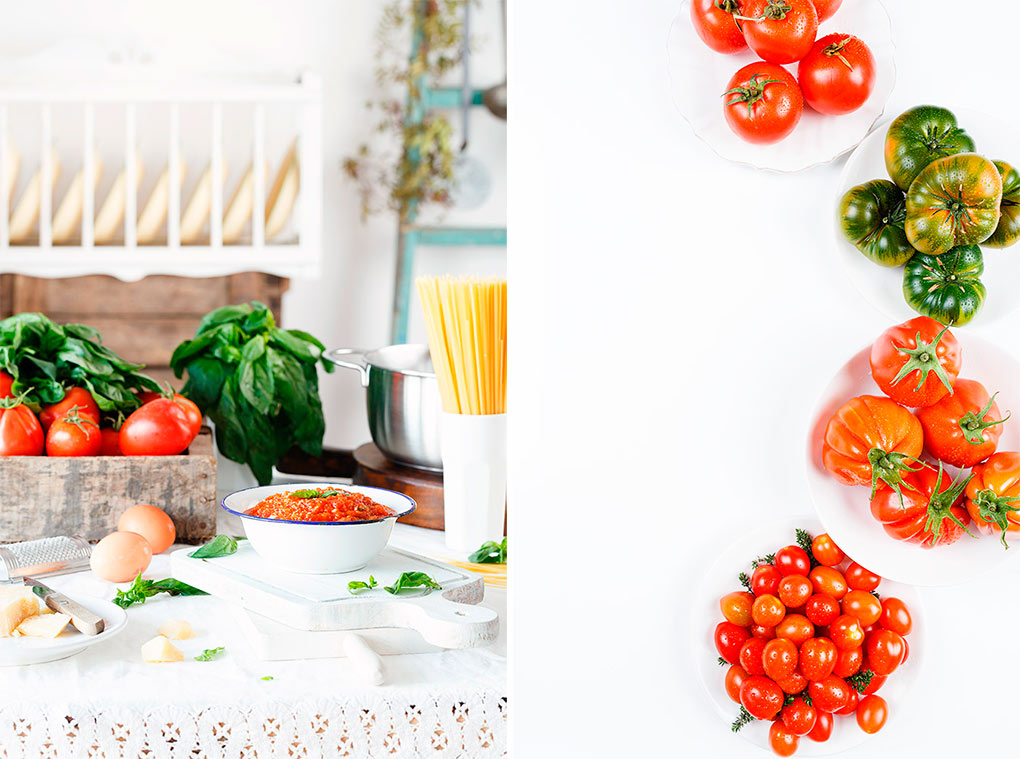 Vamos con la receta del tomate frito