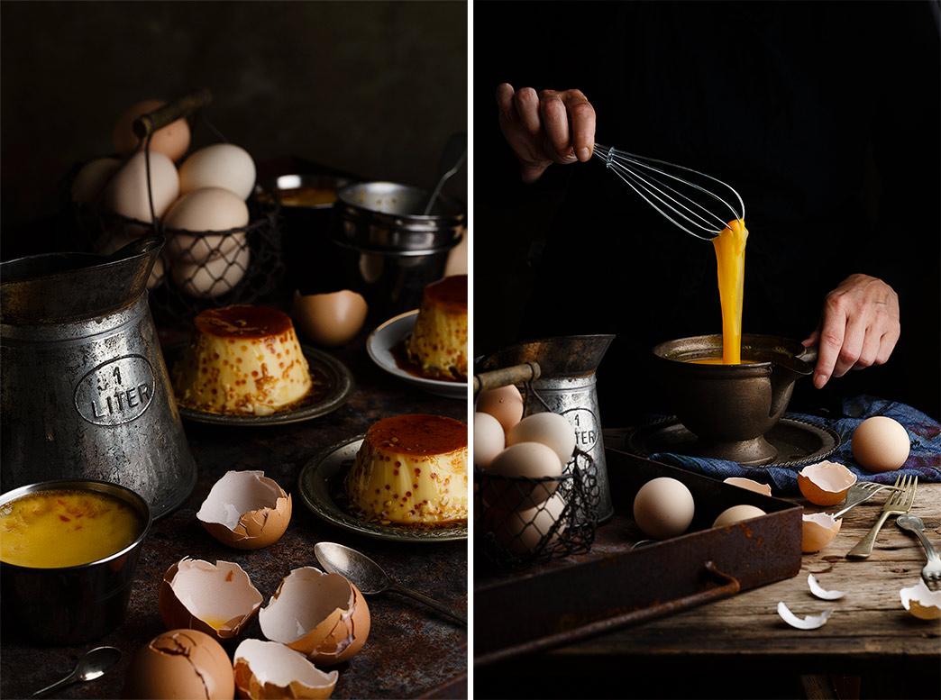 Receta de flan de huevo casero