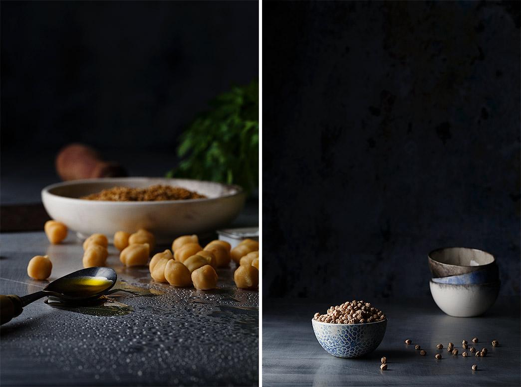 Hummus o crema de garbanzos