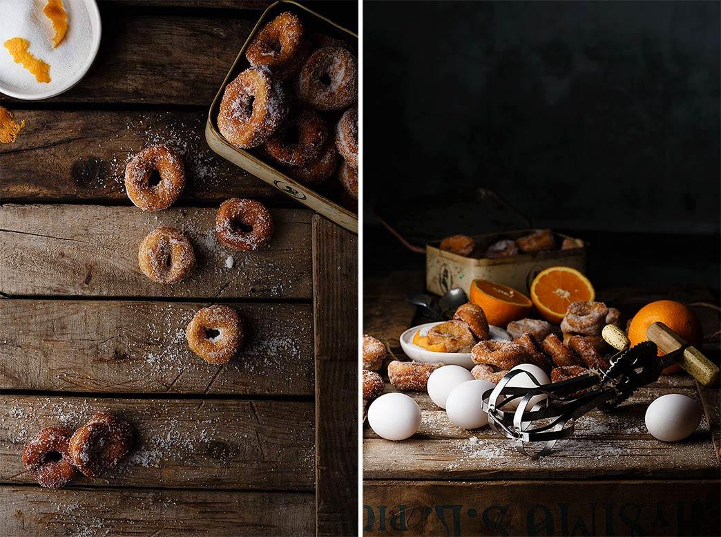 Ingredientes para las rosquillas de anís