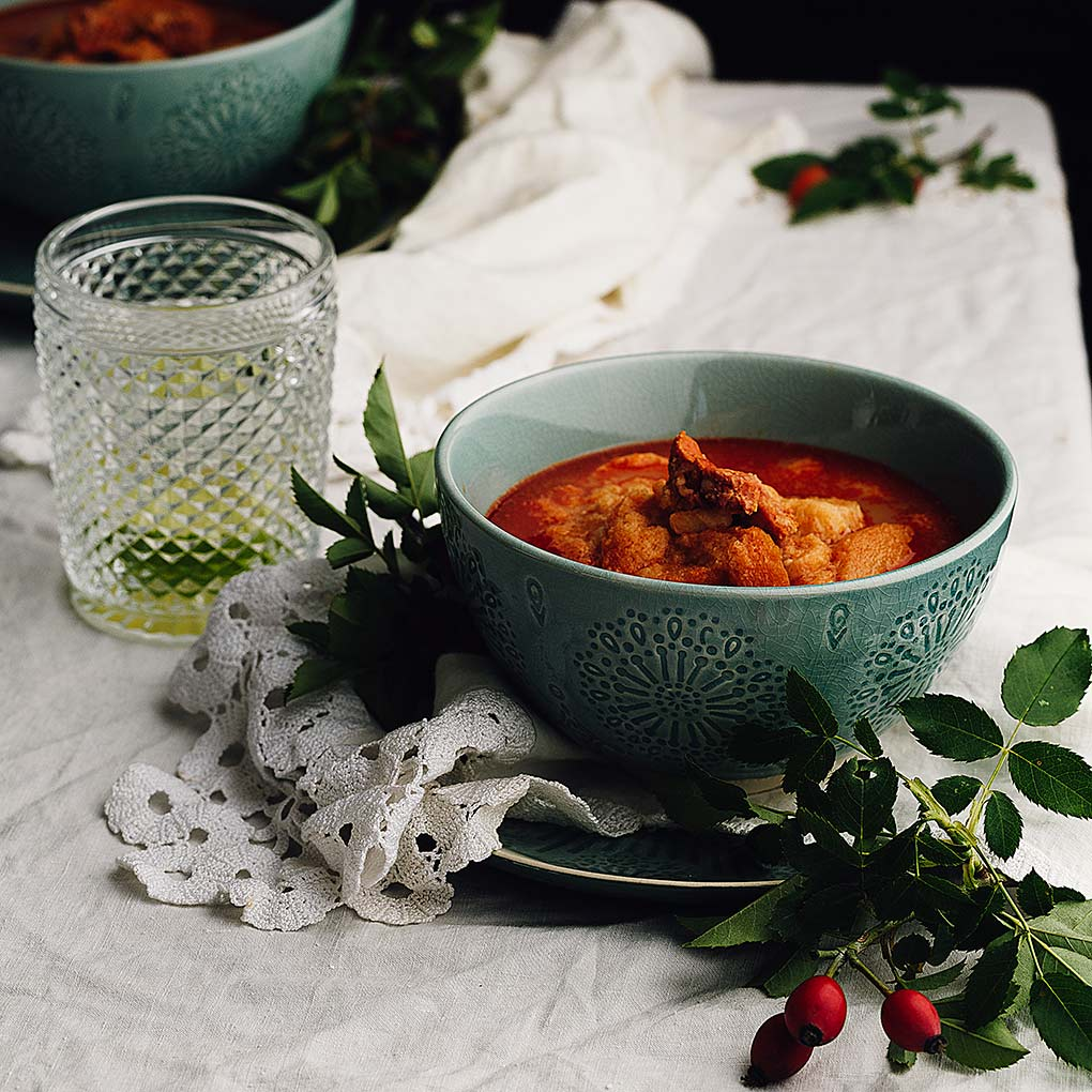 Sopa castellana o sopa de ajo