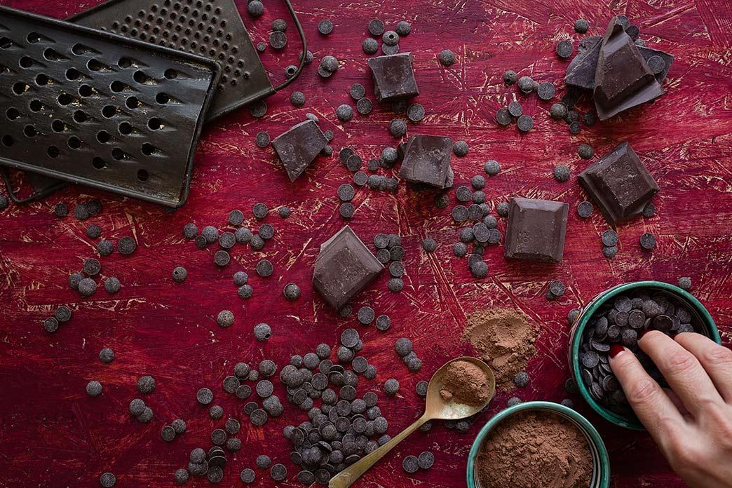 Postres de chocolate fáciles