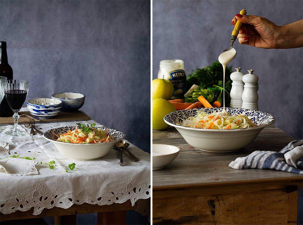 Cómo hacer ensalada de col
