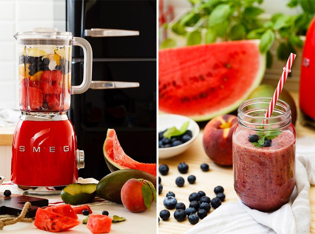Batido frutas receta