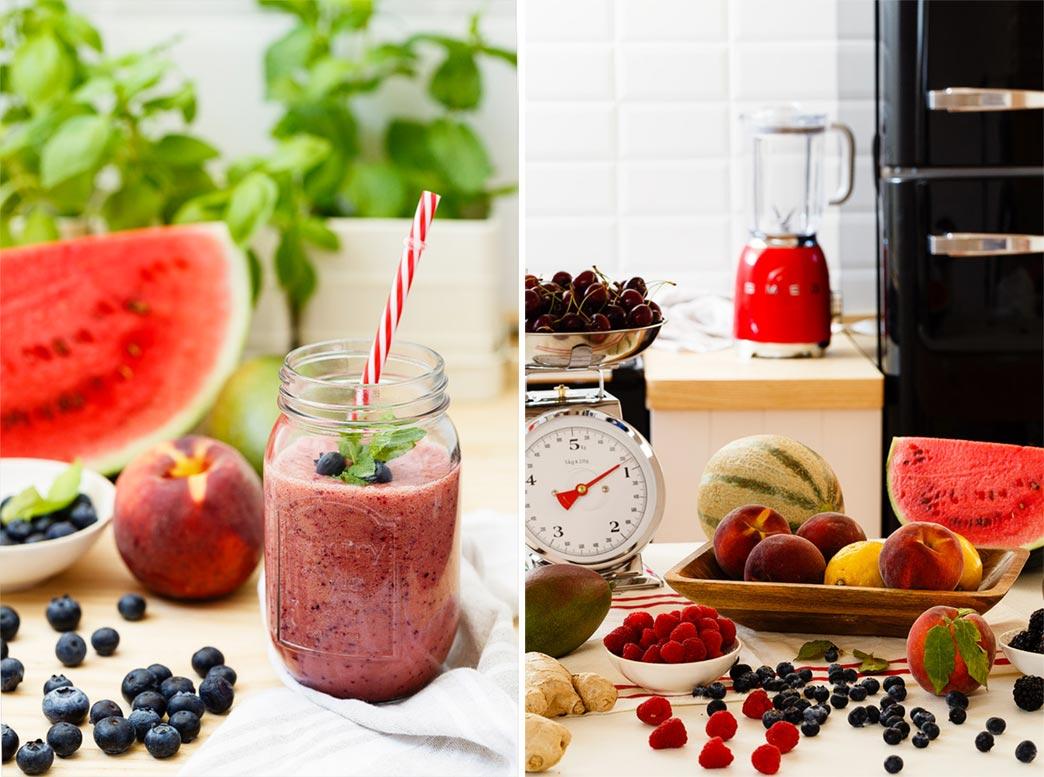 Batido frutas naturales