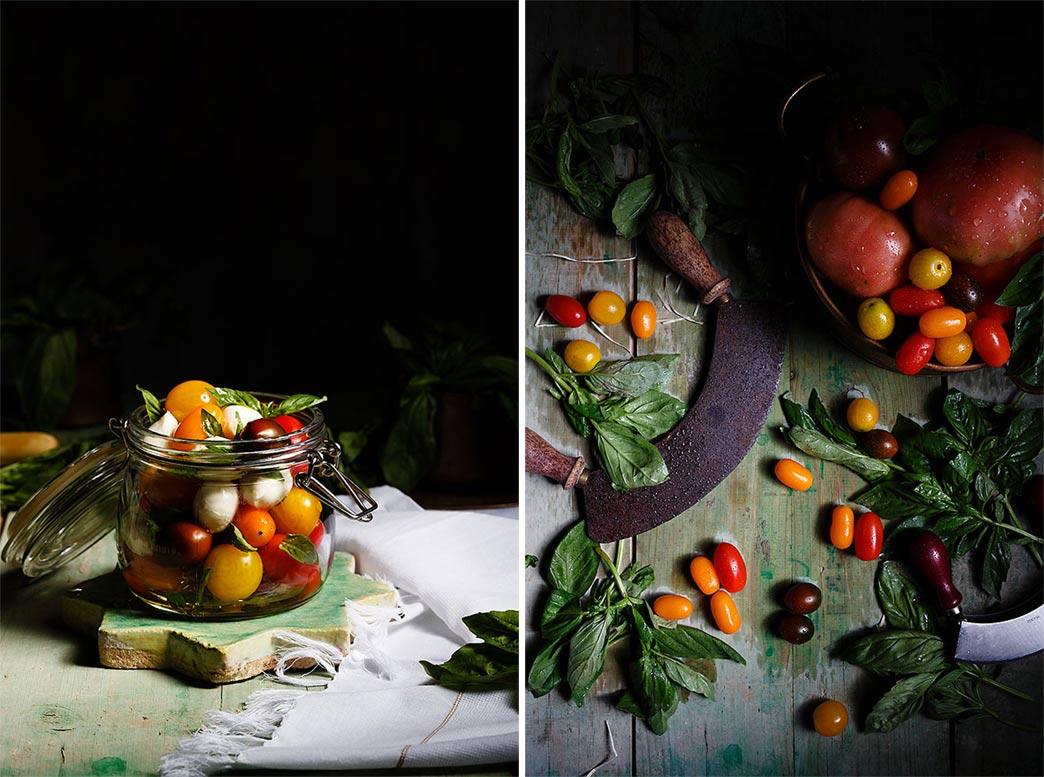Recetas de ensaladas Caprese