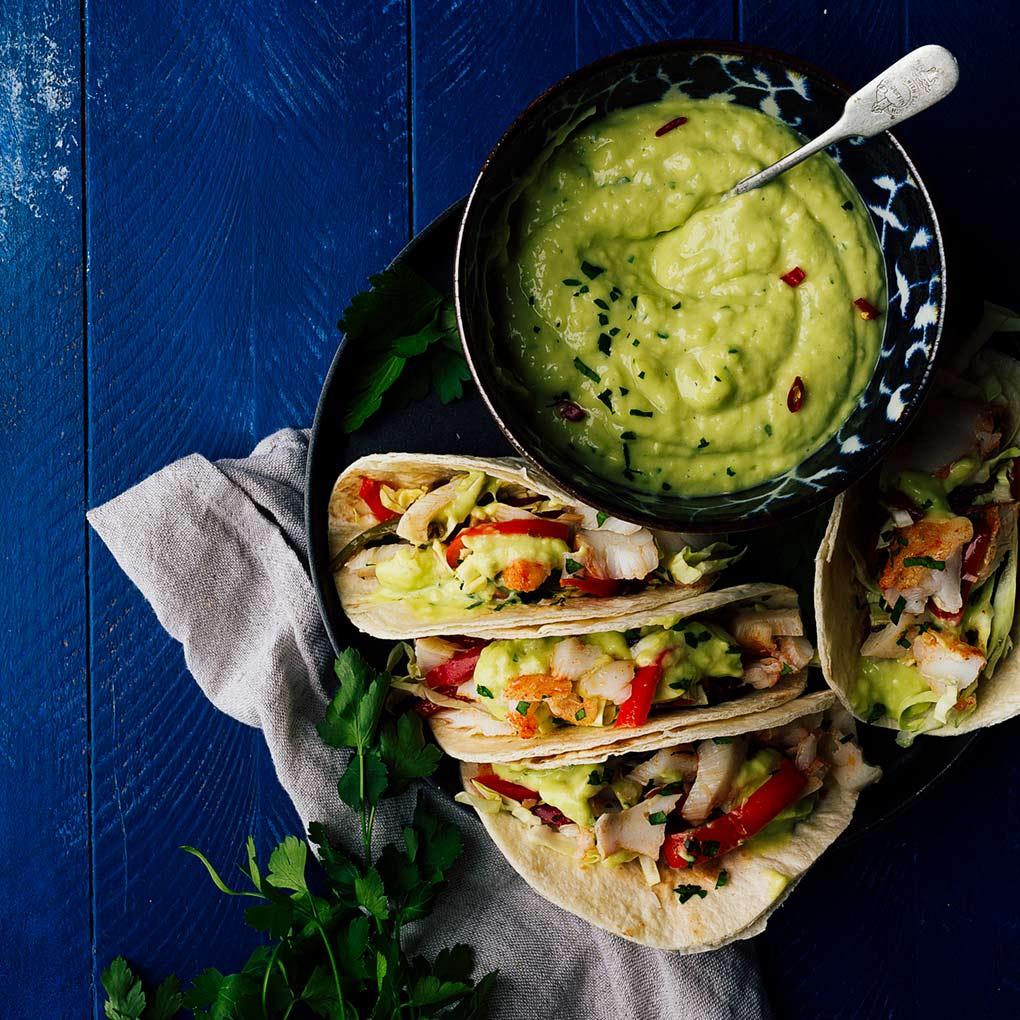 Tacos de pescado mexicanos