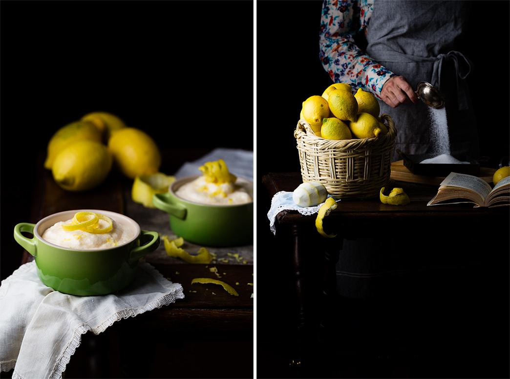 receta mousse de limón