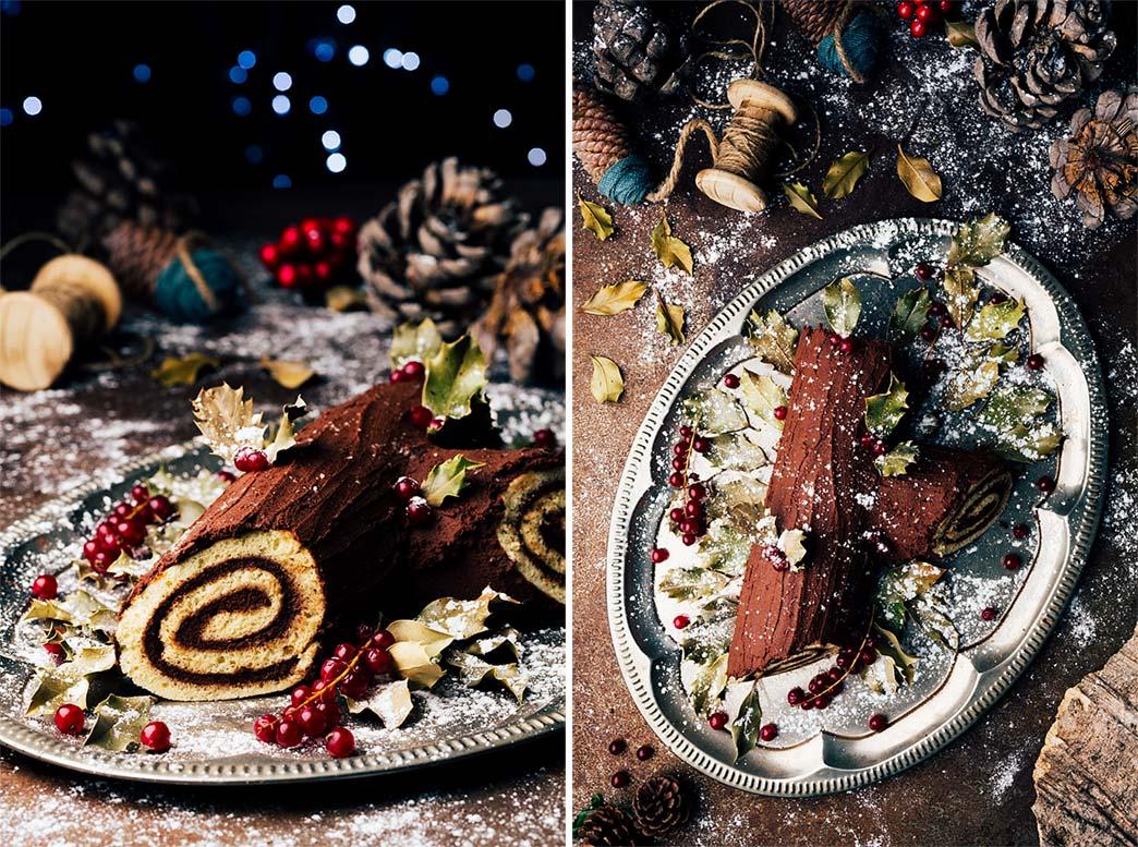 Ingredientes para el Tronco de navideño
