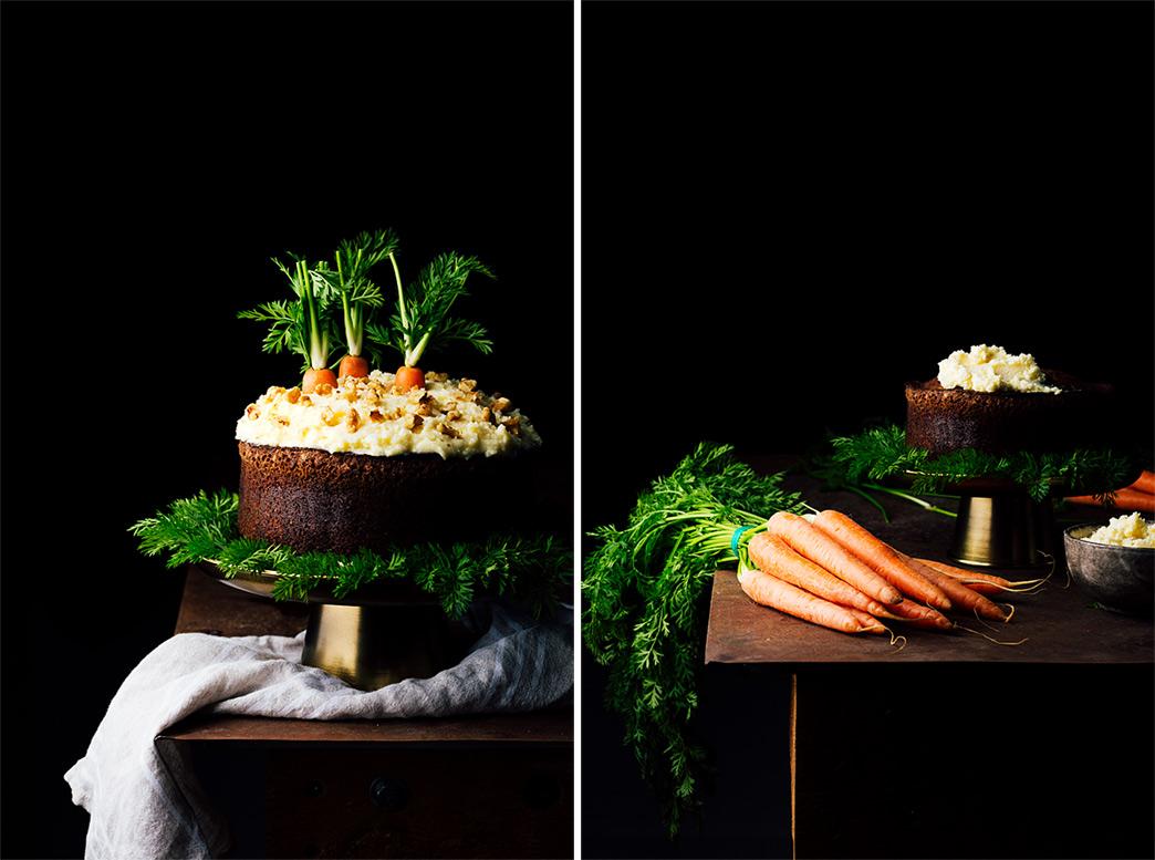 bizcocho de zanahoria facil