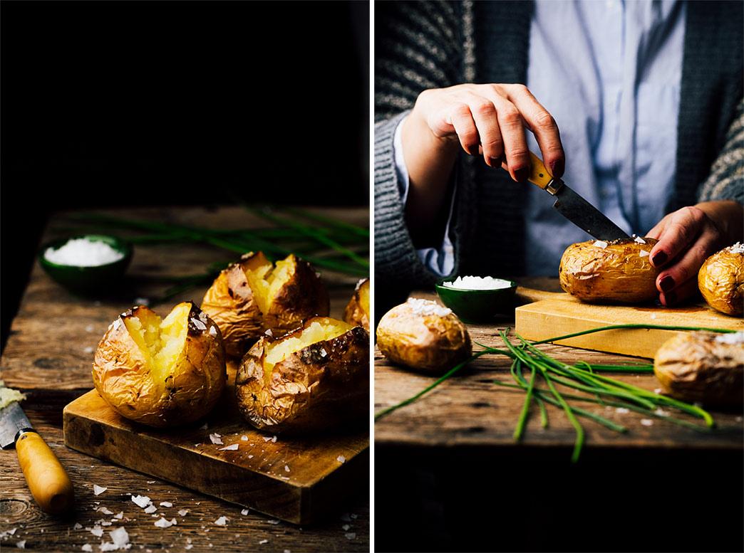 patatas enteras al horno