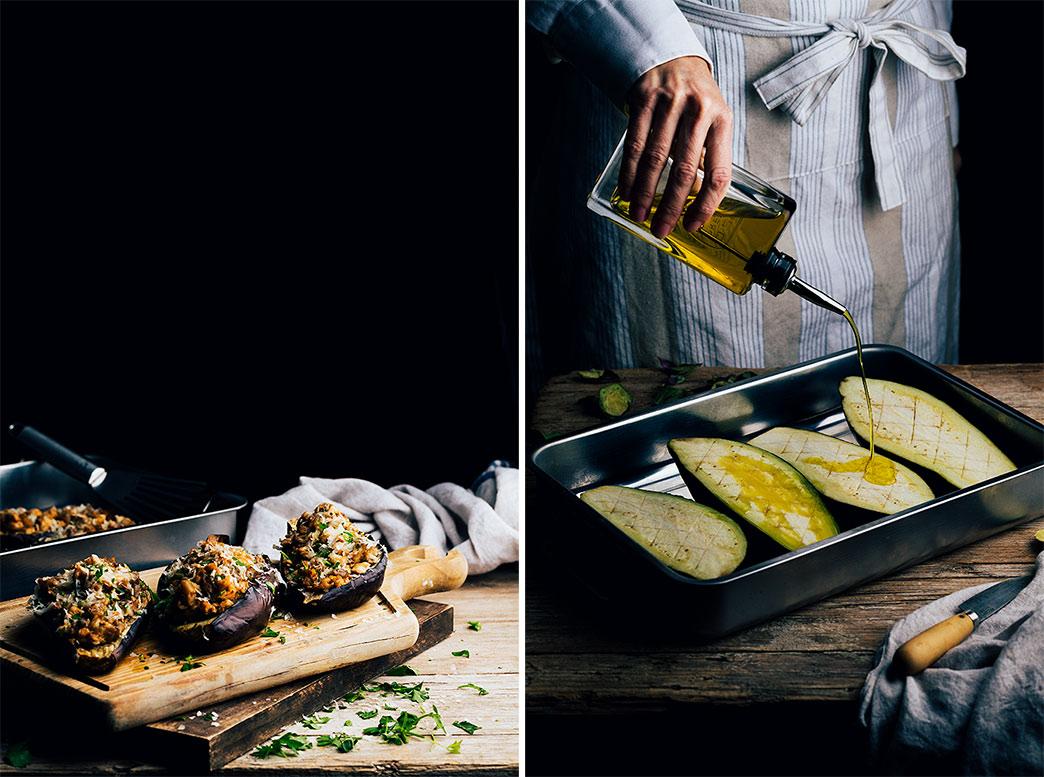 receta de berenjenas rellenas