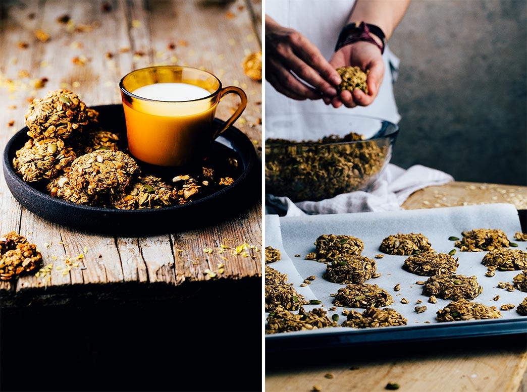 Receta de galletas de avena sin harina receta de los - Cocinar harina de avena ...