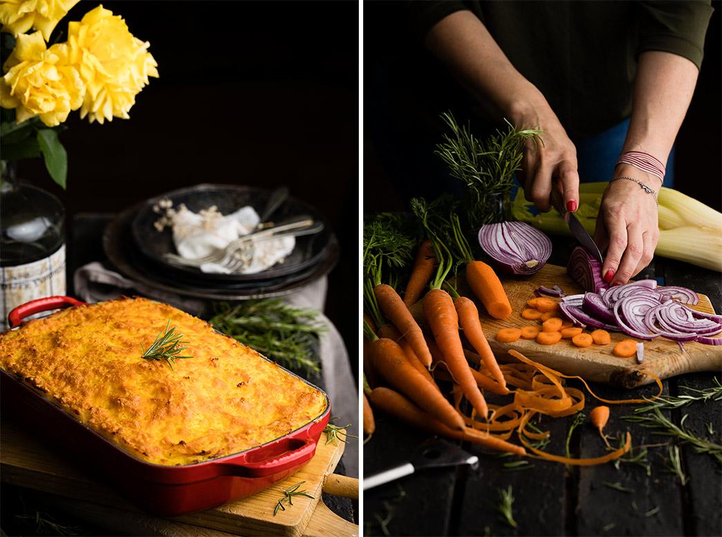 Receta de pastel de carne y patata o Shepherd's Pie