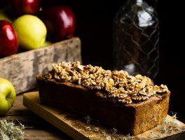 pan dulce de manzana