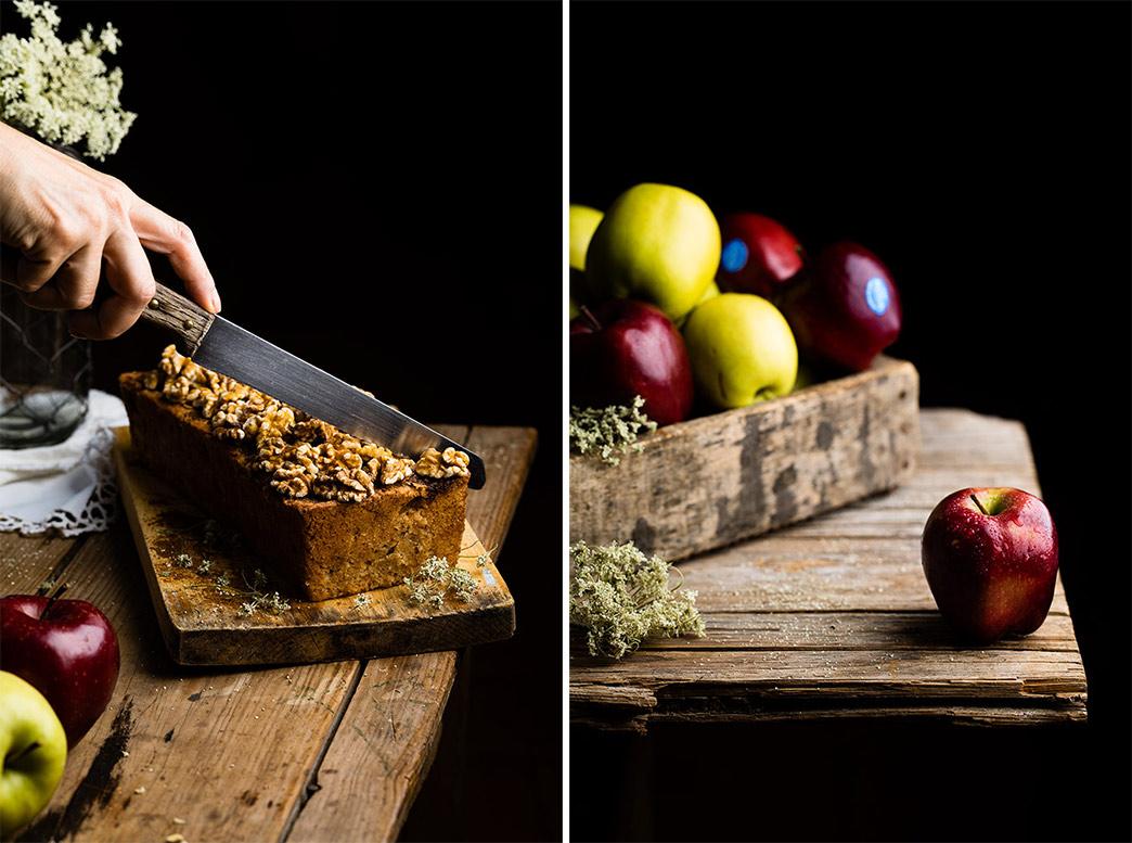 Receta de pan dulce de manzana
