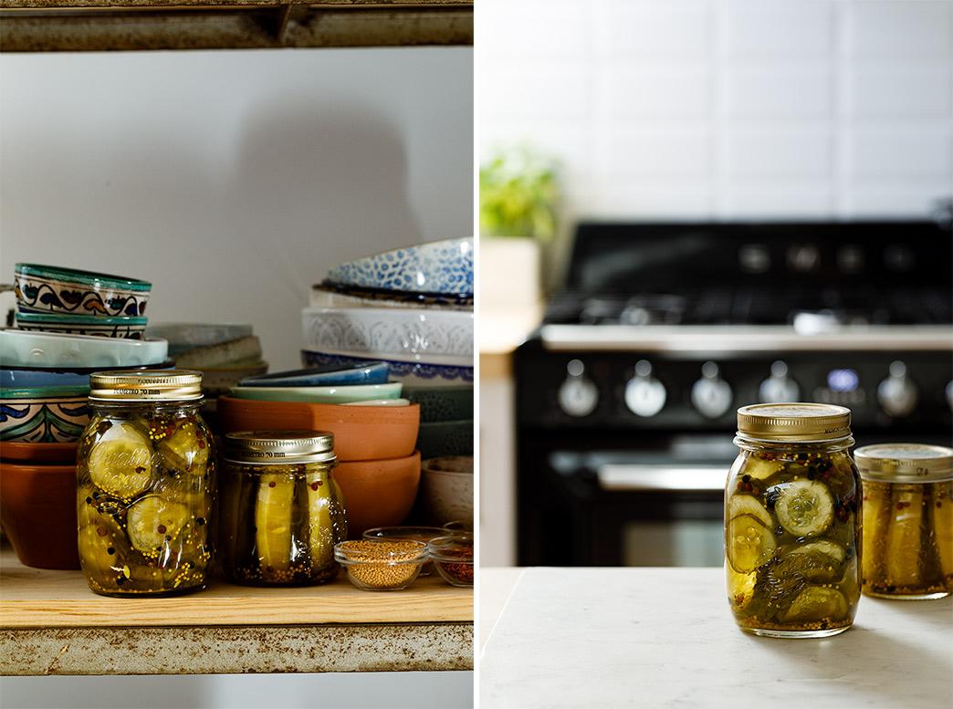 como hacer pepinos en conserva