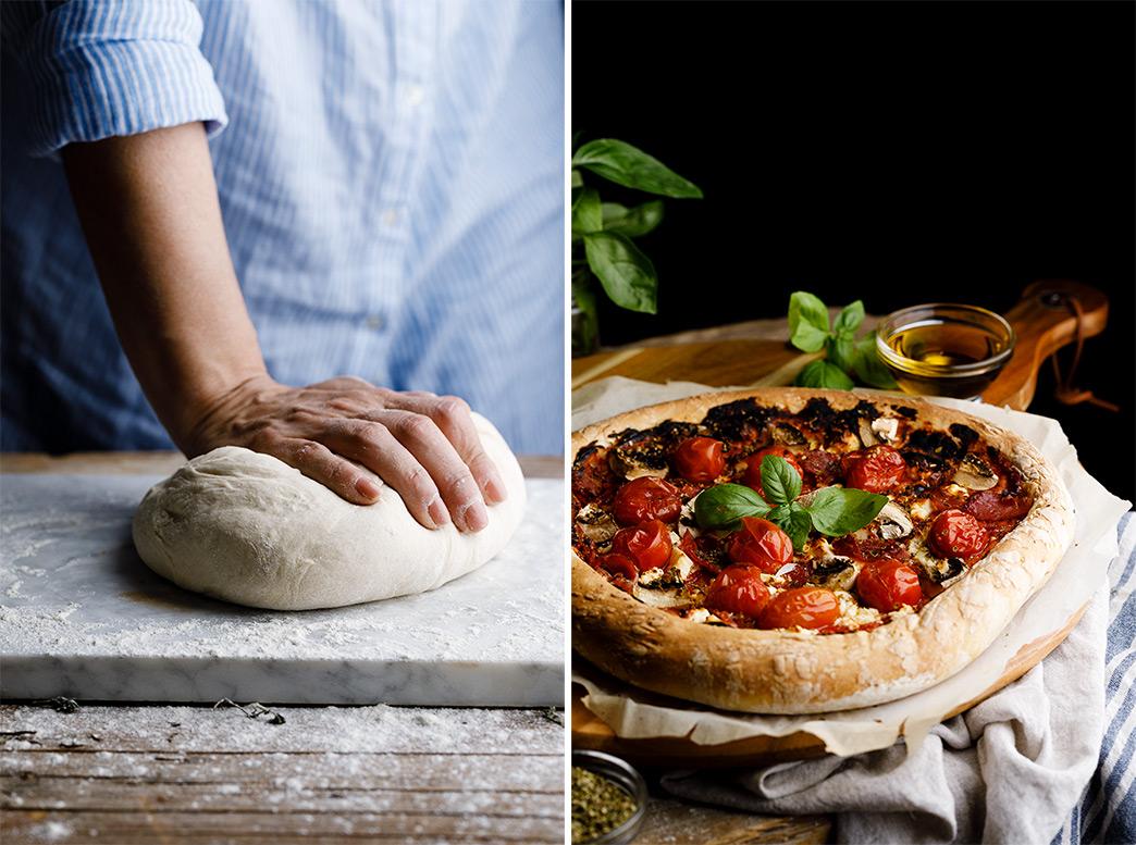 Receta para hacer masa de pizza
