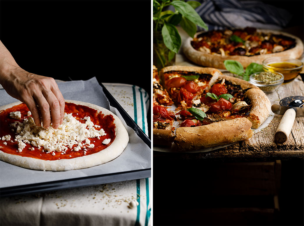 Como hacer masa de pizza italiana