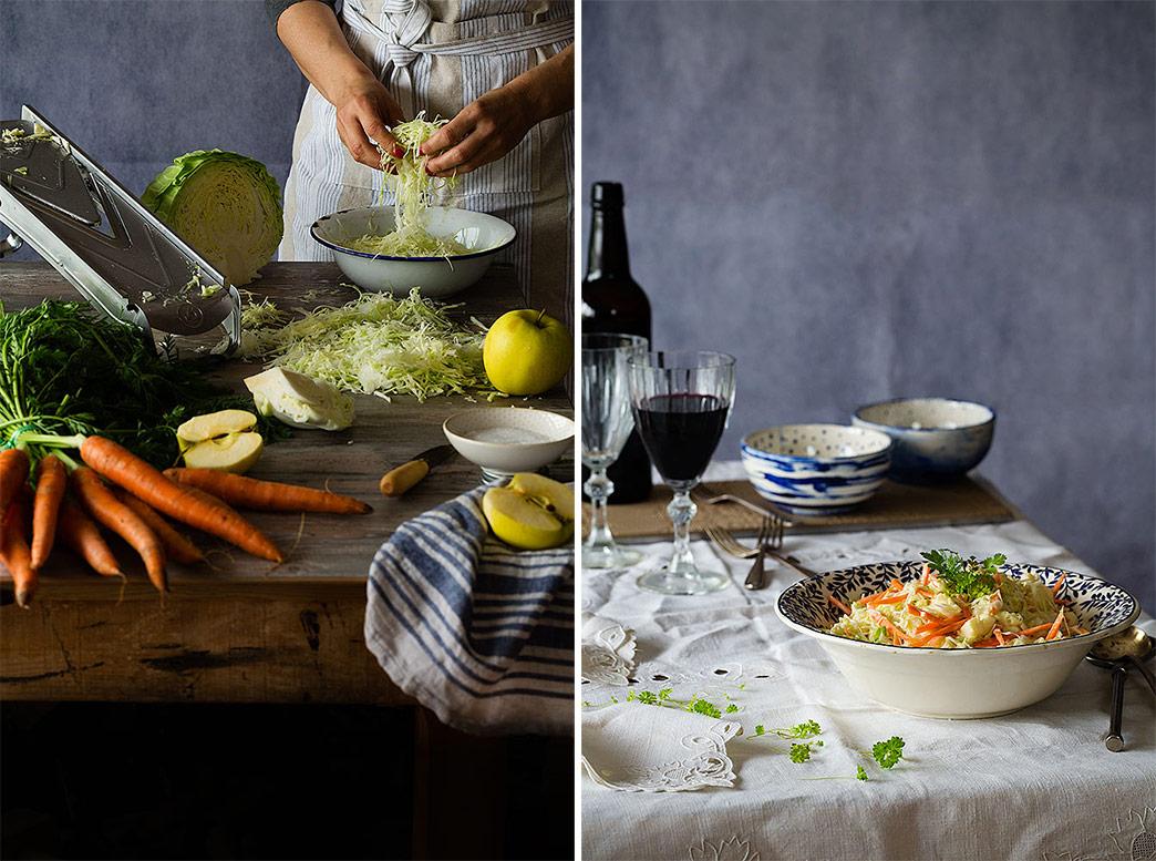 recetas de ensaladas de col