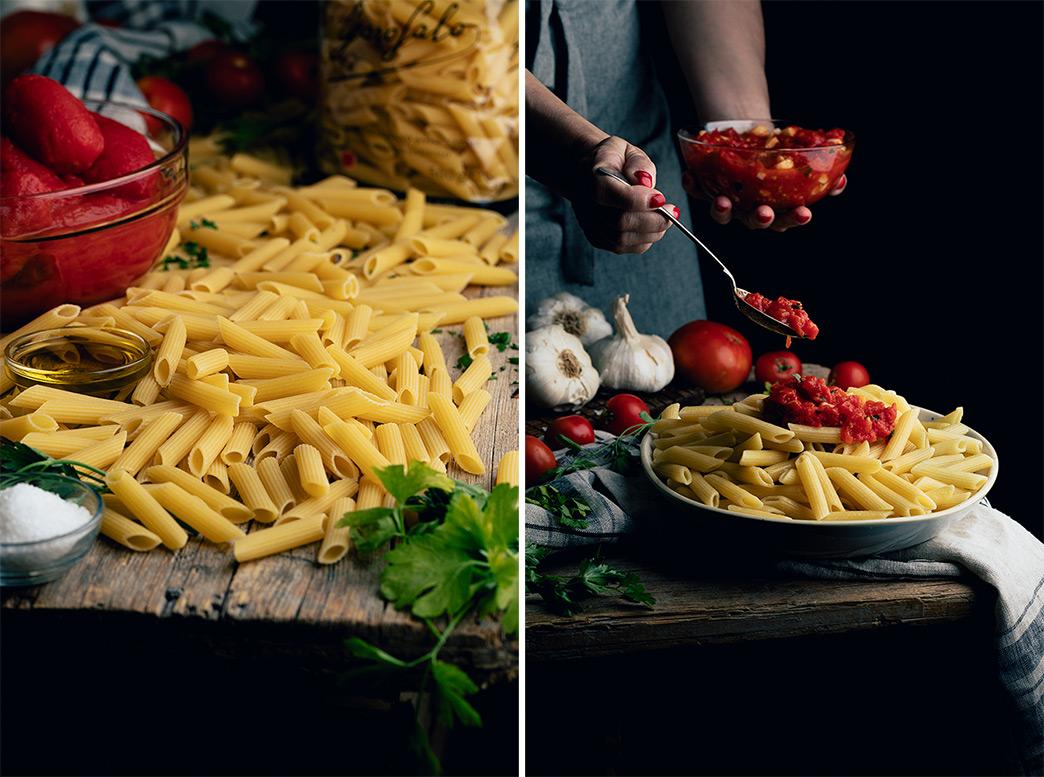 Como preparar un plato de pasta delicioso