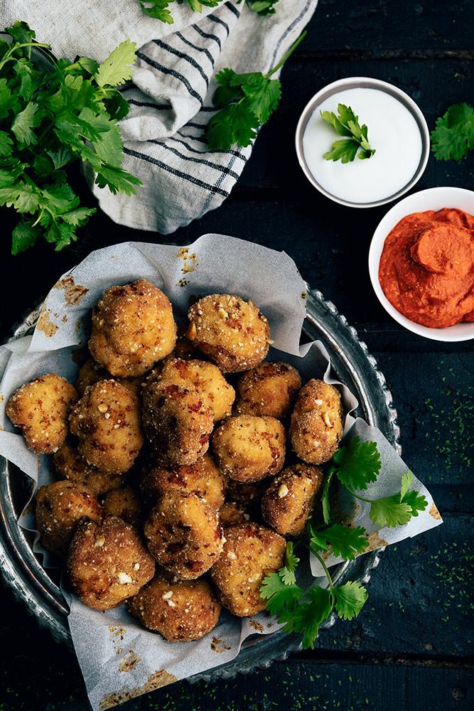 Ingredientes para hacer nuggets de pollo caseros