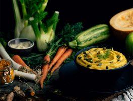 crema de verduras asadas