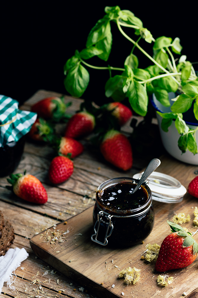mermelada de fresas casera