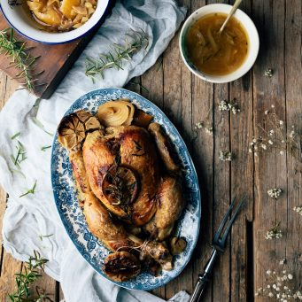 Cómo hacer pollo asado en Crock Pot