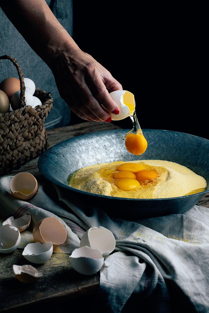 pasta fresca casera con huevo