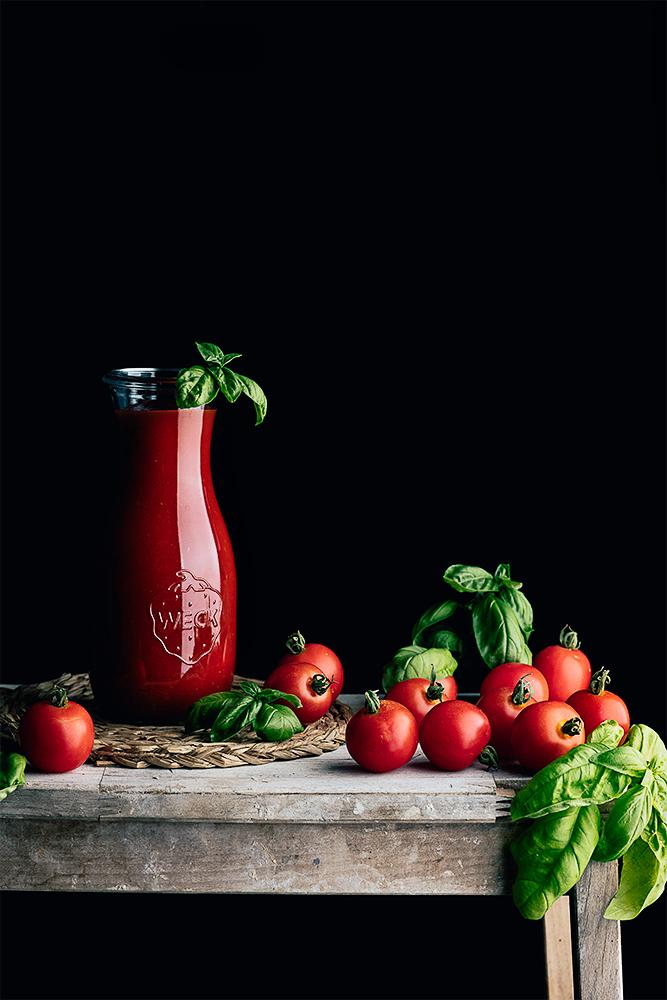 passatta di pomodoro o puré de tomate italiano