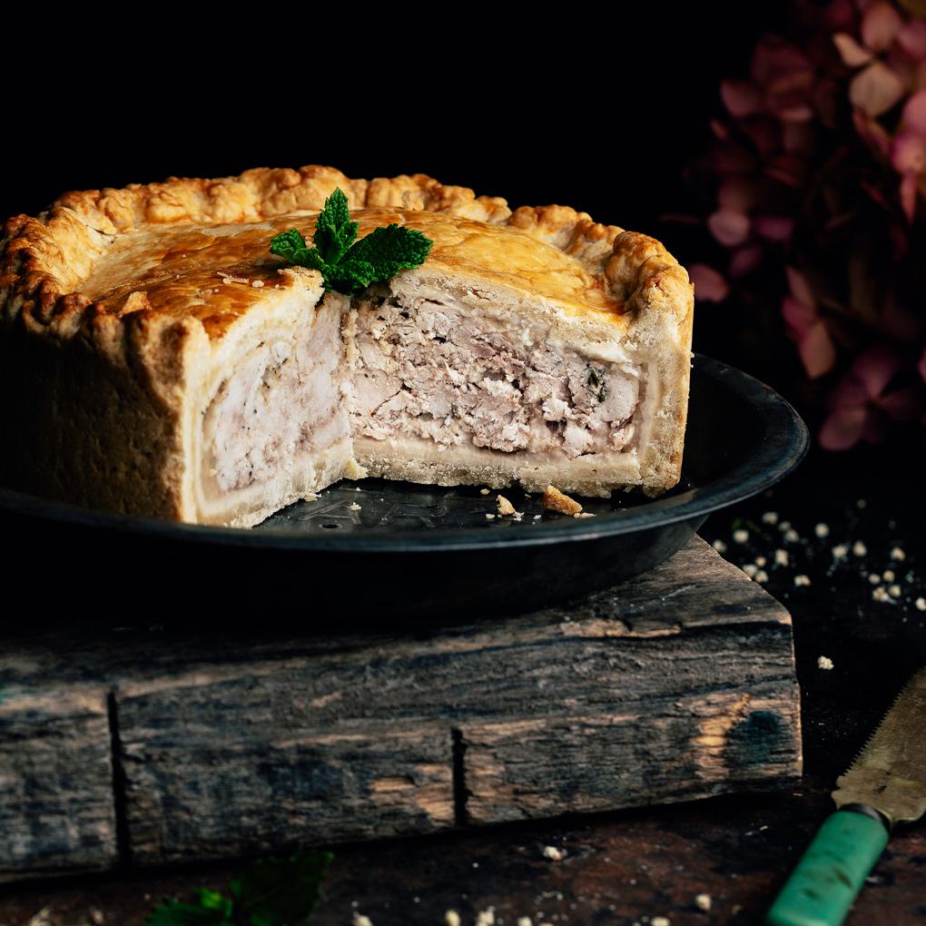 Pastel de cerdo de Melton Mowbray