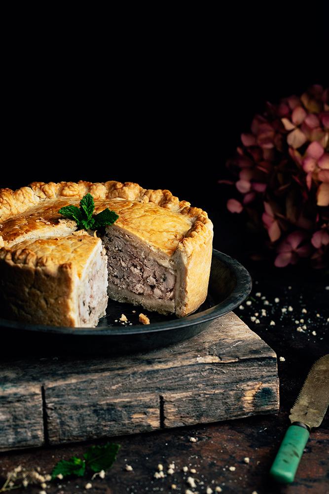 receta de pastel de carne de cerdo