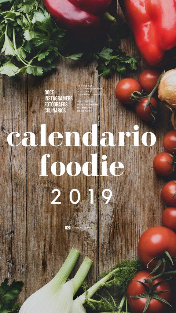 Calendario Foodie