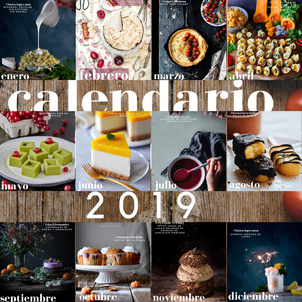 recetas calendario